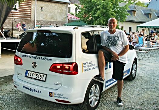 Pražská plynárenská CNG vozy