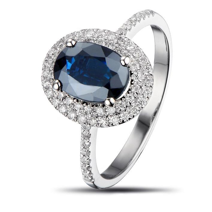 barevný diamant